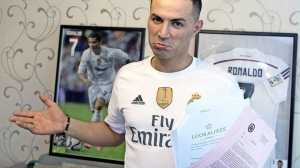 CR7 look alike - Cristiano Ronaldo bij Telegraaf