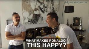 Lookalike at Cristiano Ronaldo's home